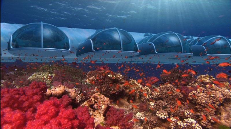 El Hotel submarino más espectacular del Mundo
